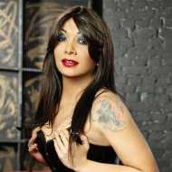 Byanca Carvalho, transsexual (pre-op)